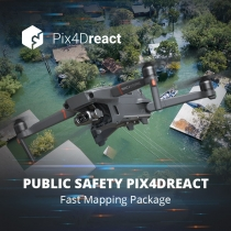 Public Safety Pix4Dreact Fast Mapping Package
