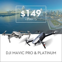 Repair Service For Mavic Pro and Mavic Pro Platinum