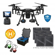 DJI Matrice 210 + XT2, Z30, Case, Extra Batteries, Lights & More