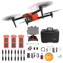 Autel EVO II Dual + Extra Batteries, Prop Guards, Tablet Mount & More