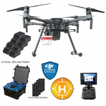 DJI Matrice 210 + Multispectral Camera, Case, Extra Batteries & More
