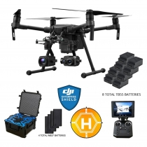 DJI Matrice 210 + Camera Payloads, Case, Extra Batteries & More