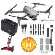 DJI Mavic 2 Pro + Fly More Kit, Case, Mapping Software & More
