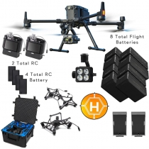 DJI Matrice 300 RTK + Zenmuse H20T, Case, Extra Batteries & More