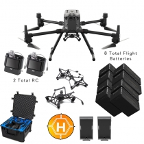 DJI Matrice 300 RTK + Camera Payloads, Case, Extra Batteries & More