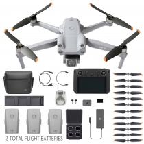 DJI Air 2S Drone - Fly More Combo w/ Smart Controller