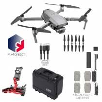 DJI Mavic 2 Pro + Fly More Kit, Case, Pix4Dreact & More