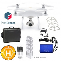 DJI Phantom 4 Pro V2 + Case, Extra Batteries, Pix4Dreact & More
