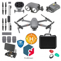 DJI Mavic 2 Enterprise Dual + Fly More Kit, Pix4Dreact & More