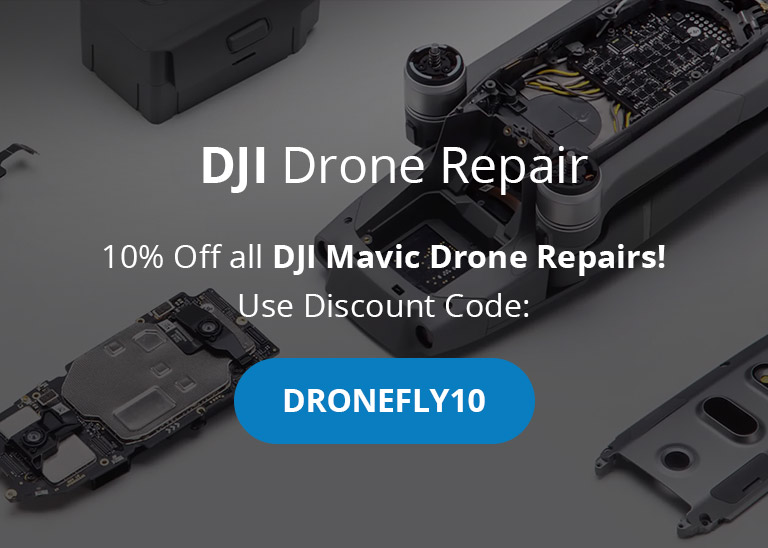 DJI Mavic Drone Repair Discount